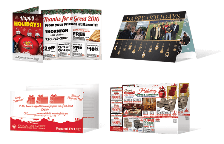 Holiday Promotion Direct Mail