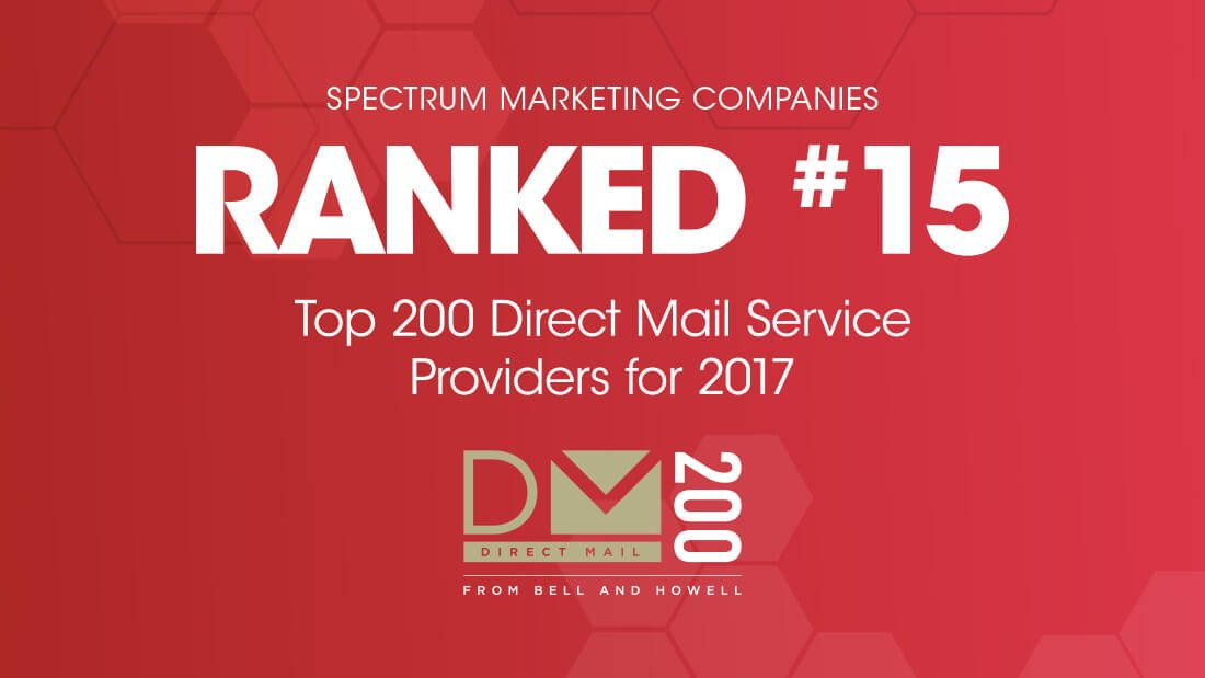 bell and howell top 200 direct mail service providers for 2017
