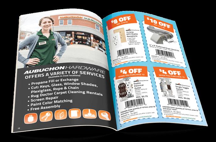 Aubuchon Catalog Staying Power