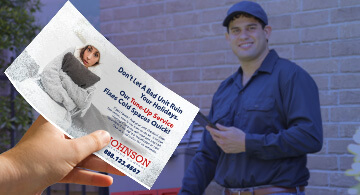 HVAC services marketing industry direct mail solutions