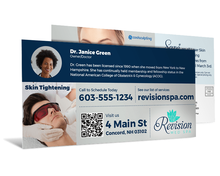 Revision Med Spa Industry direct mail